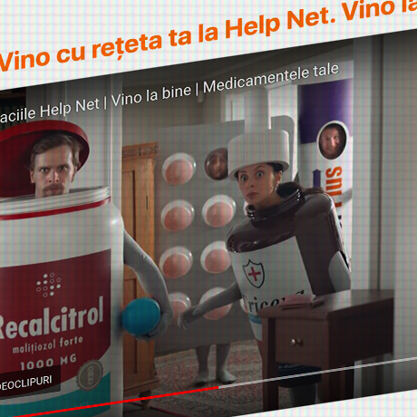 Vino cu rețeta ta la Help Net